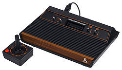 Atari 2600 Wood Version